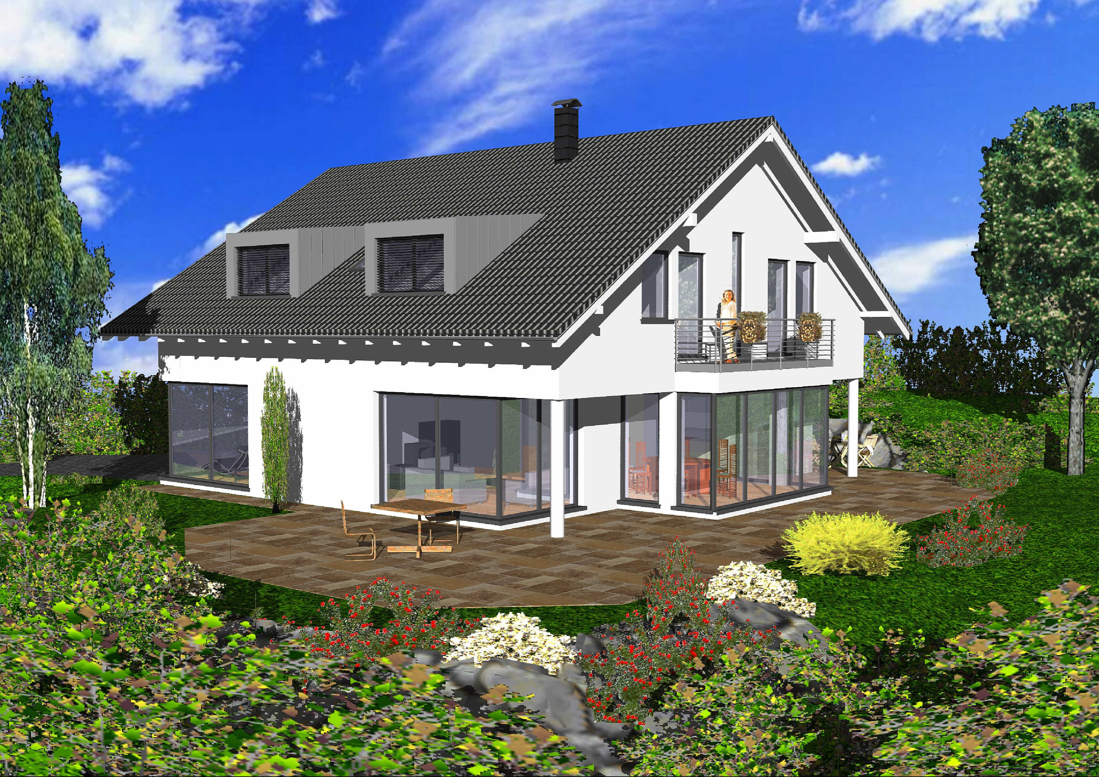 Korschenbroich-West: Erste architektonische Hausentwürfe